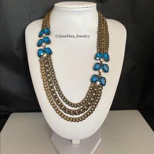 Plunder March Posse Necklace Royal Blue.
